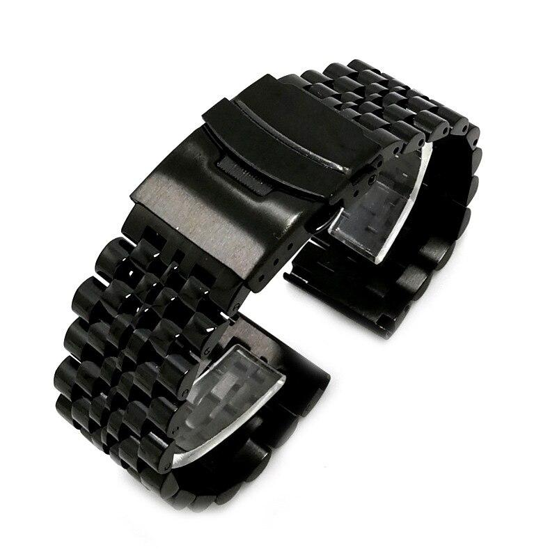 Seven Beads Stainless Steel Band for Fossil Watch